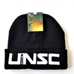 Halo GUARDIANS UNSC Cuff Knit Beanie-Black - BRAND NEW