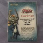 Legend Of Zelda Ultra Rare Card Midna T-Shirt Winner Twilight Princess