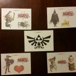 Legend of Zelda Tattoo Card Set 2007 Enterplay Twilight Princess
