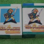 Lot of 2 Legend of Zelda Erasers, A Link to the Past SNES SFC Bandai 1992