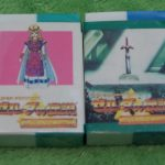 Lot of 2 Legend of Zelda Erasers, A Link to the Past SNES SFC Bandai 1992 2
