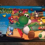 N64 Yoshi's Story 64 Banner Poster Promo Promotional Electronic Boutique