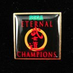 NEW SEGA ETERNAL CHAMPIONS Promo Pin Badge 1993 Genesis Mega Drive 32X