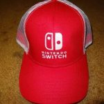 Nintendo Switch Hat From PaxEast 2017