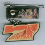 Onimusha 3 Red Seven Cell Phone Strap Keychain