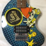 Parappa The Rapper Guitar Fernandes ZO-3 Extremely Rare PS1 PlayStation Official 1