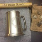 Pax East 2013 Bethesda Elder Scrolls Online Lot Pewter Stein Septums Scroll