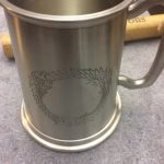 Pax East 2013 Bethesda Elder Scrolls Online Lot Pewter Stein Septums Scroll 2