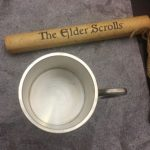 Pax East 2013 Bethesda Elder Scrolls Online Lot Pewter Stein Septums Scroll 3