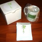 Resident Evil Green Herb Tea Coffee Mug Code Veronica Official CAPCOM Rare Chris