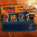 Sonic The Hedgehog Pencil Topper Erasers Collector's Edition