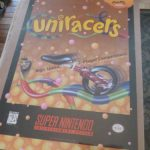 Uniracers Nintendo Poster 1994 Promotional Super SNES NES Video Game Store 2