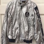 Vintage Atari Silver Jacket Youth Medium Swingster Collectable Rare