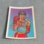 Vintage Nintendo Mike Tyson's Punch-Out! Lenticular Trading Card NES