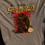 Counter Strike Nerd Block Exclusive T-shirt