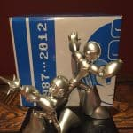 Megaman Megaman X 25th Silver Anniversary Statue only 1000 made