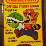 Nintendo Official Sticker Album book (1992) NES GAMEBOY Merlin