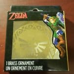 SPECIAL The Legend Of Zelda Hyrule Crest Brass Ornament GameStop Exclusive NIP