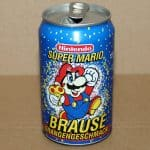 1993 Vintage Nintendo Super Mario Soda Can