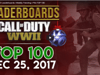 Call of Duty WWII Leaderboards - Top 100 - PS4 - Dec 25, 2017