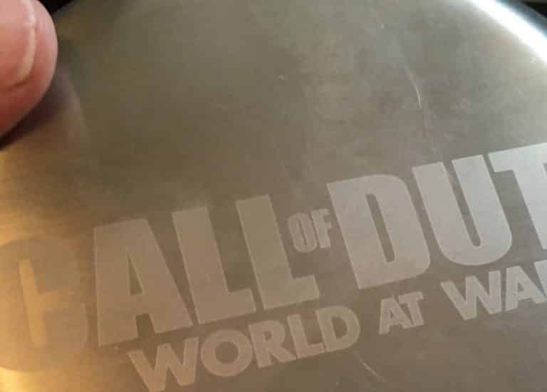 Call of Duty World at War COD Activision Merchandise Promo Collectible Xbox