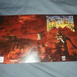 Doom Cover Art Signed Print, Gamestop Exclusive Xbox One