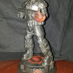 Gears of War CHAOS Edition Statues Marcus + Dom + Boomer Set Mindzeye LE 3