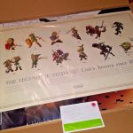 Legend of Zelda Link's History Club Nintendo Poster Ultra Rare 1986 Limited NES