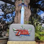 Legend of Zelda Skyward Sword Promo Statue Holiday Mall Tour 2011 Nintendo Display 2