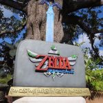 Legend of Zelda Skyward Sword Promo Statue Holiday Mall Tour 2011 Nintendo Display 3