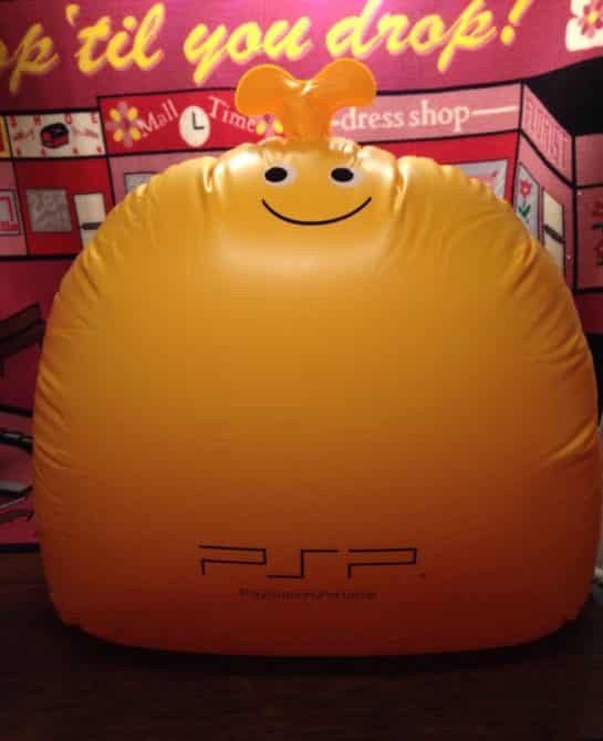 Loco Roco Over 3ft Inflatable Promo Display 2006 Psp Sony Rare Game Playstation