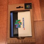 Nintendo 64 Bifold Wallet Mens Womans Rare New Unisex Cosplay NES SNES N64