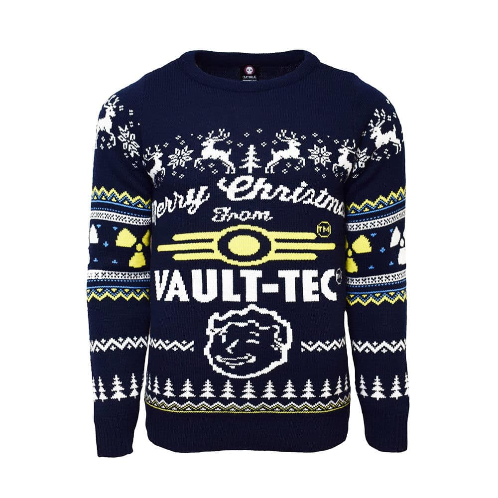 Official Fallout 4 Vault Tec Ugly Christmas Sweater