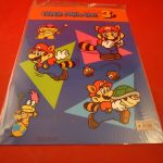 Super Mario Bros. 3 Nintendo NES RARE Promotional Plastic Display Japan Promo