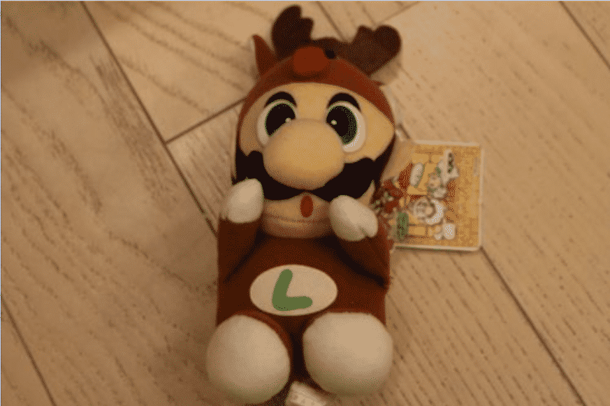 Super mario Luigi Reindeer SU-12 xmas christmas Banpresto Plush doll soft toy