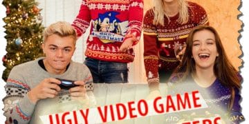 Top 10 Ugly Christmas Sweaters For Gamers 2017 New