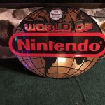 World of Nintendo Retro Sign Globe Gaming NES SNES Display Vintage classic Store 2