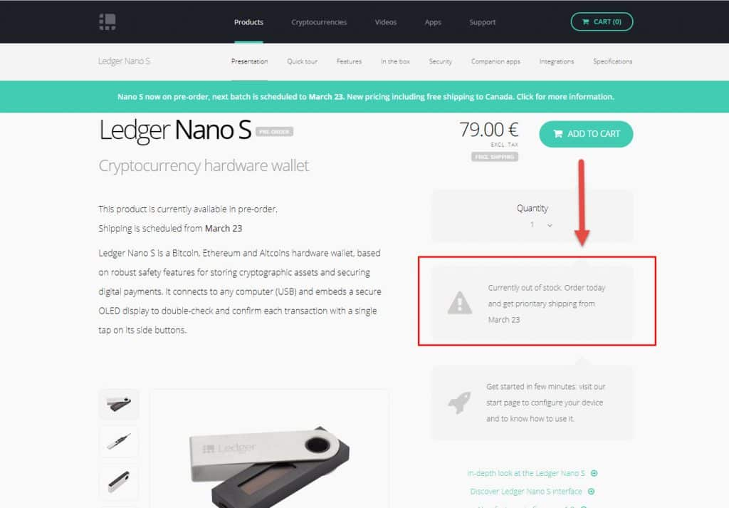 Do Not Buy Ledger Wallet Nano Blue From Third Party Sellers - Amazon eBay 2