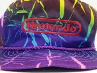 Nintendo Employee Retail Hat and Vest in the 90s Fet