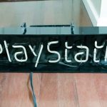 Sony PlayStation Neon Store Sign