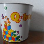 Vintage Mylstar 1983 Qbert Tin Garbage Can--Awesome Collectors Item 3