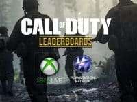 Call of Duty Leaderboards WW2 WWII Xbox PS4 Activision