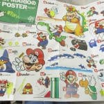 Super Mario USA Famicom Map Booklet 1990