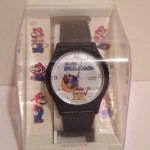 Vintage Super Mario World Wrist Watch Nintendo 1991 WORKS 2