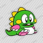 Bubble Bobble BUB Car Truck SUV Vinyl Bumper Sticker