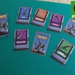 FORTNITE Miniature replica cards. Handmade