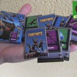FORTNITE Miniature replica cards. Handmade 3