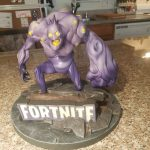 Fortnite game statue, Battle Royal, Smasher, rare