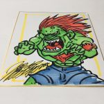 Capcom Street Fighter II Blanka Original Art by Xu Jing Chen Hong Kong Manhua 1