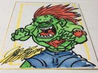 Capcom Street Fighter II Blanka Original Art by Xu Jing Chen Hong Kong Manhua Feature
